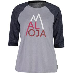 Maloja LüsaiM. 3/4 Sleeve All Mountain Jersey Women grey melange